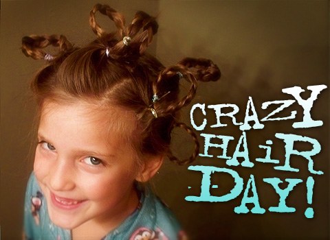 Crazy Hair  Ideas on Crazy Hair Day Cartoon Pictures 3